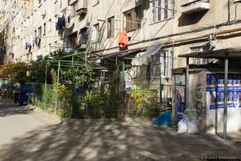 Тбилиси: дома, метро, торговля